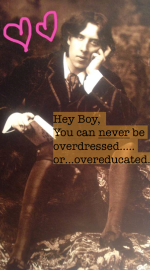 Hey Boy, You can never be overdressed...