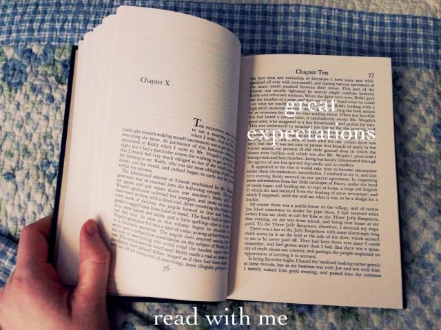 great expectations- read with me